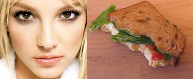 Most Stupid Things You Can Buy From Ebay - Britney Spears Half EatenSandwich