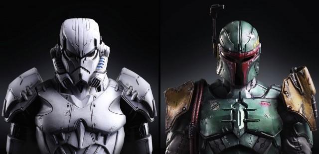 Star Wars Play Arts Variant Figures