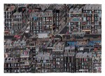 Artist Guillaume Cornet Drawing a Large-Scale Illustration Over 75 Hours