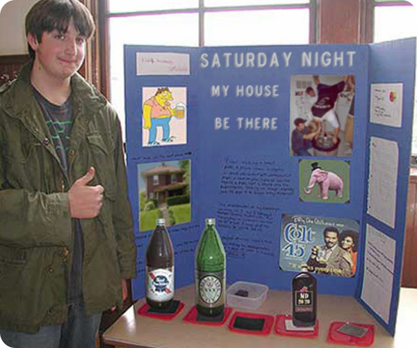 funny-science-fair-projects-saturday-night-my-house-malt-liquor