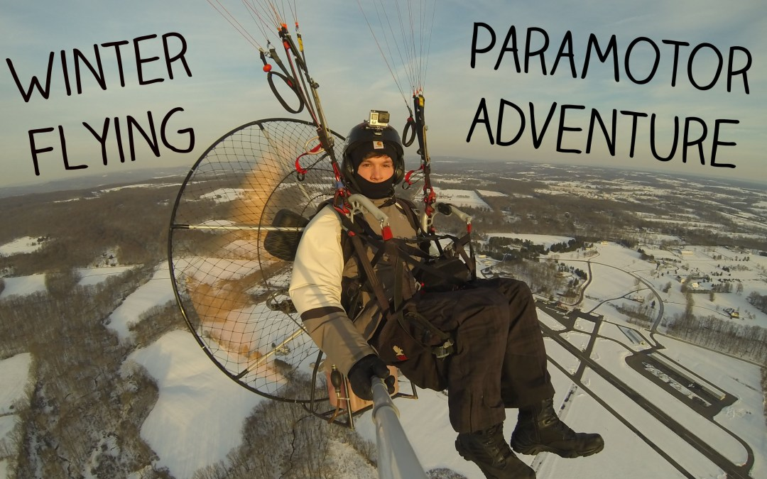 Man Straps Huge Fan And A Parachute To His Back, Goes On An Aerial Adventure