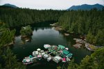 Couple Spends 20 Years Building A Self-Sustaining, Floating Island To Live Off The Grid