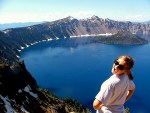 Lake in a Volcanic Crater