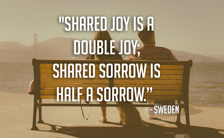 21 Beautiful And Inspirational Proverbs From Around The World - Share - Sweden