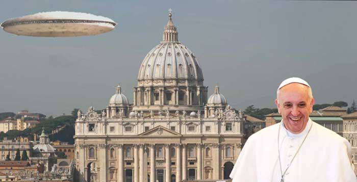 "Pope To Declare ""The Aliens Are Coming"" 5th June 2015"