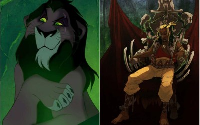 Talented Artist Transforms  Disney Animal Characters Into Humans