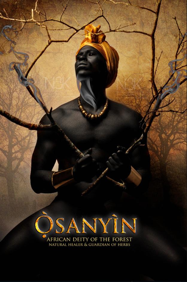 Remarkable Images of African Orisha Deities - Osanyin