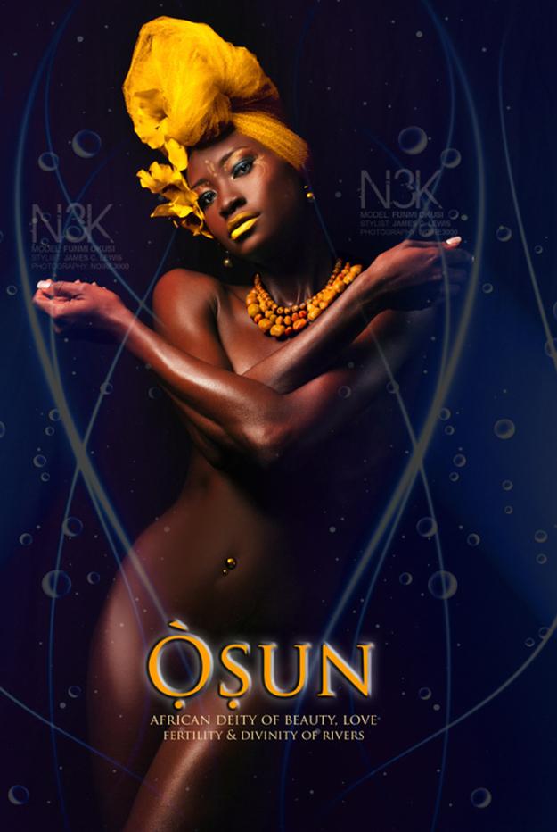 Remarkable Images of African Orisha Deities - Osun