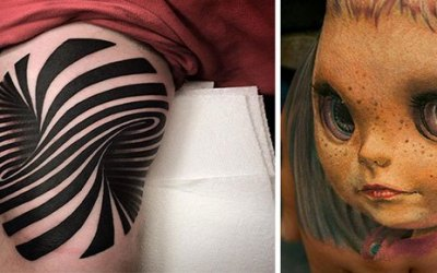 15 Insanely Hyper Realistic 3D Tattoos