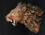 Animal Sculptures Combine Taxidermy and Upholstery
