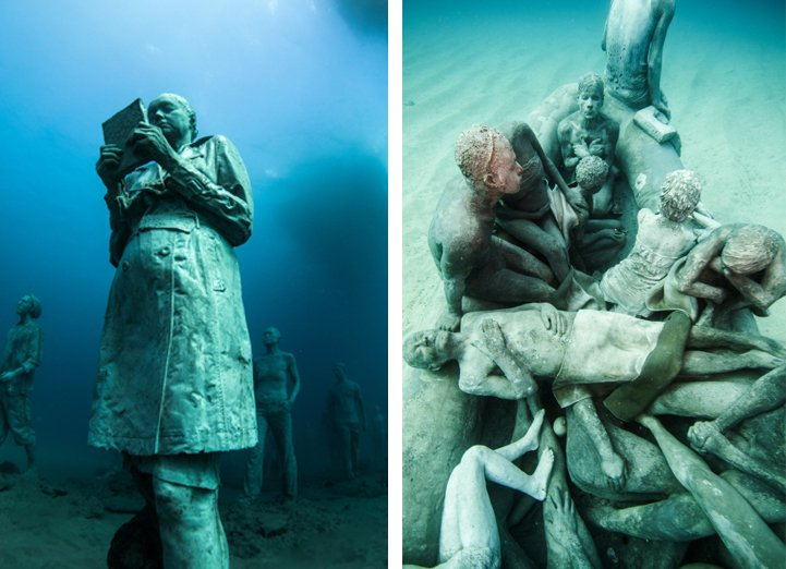 The First Underwater Contemporary Art Museum in Europe