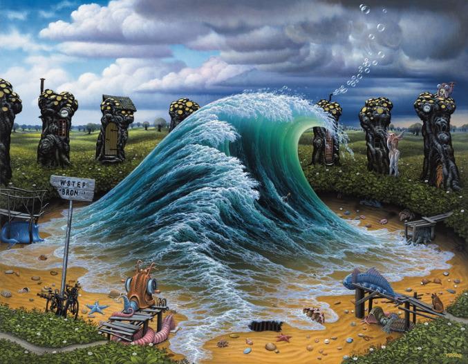 33 Surrealistic artwork by Jacek Yerka