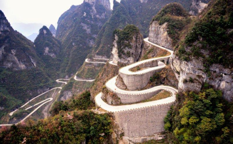 Road To Tianmen Mountains
