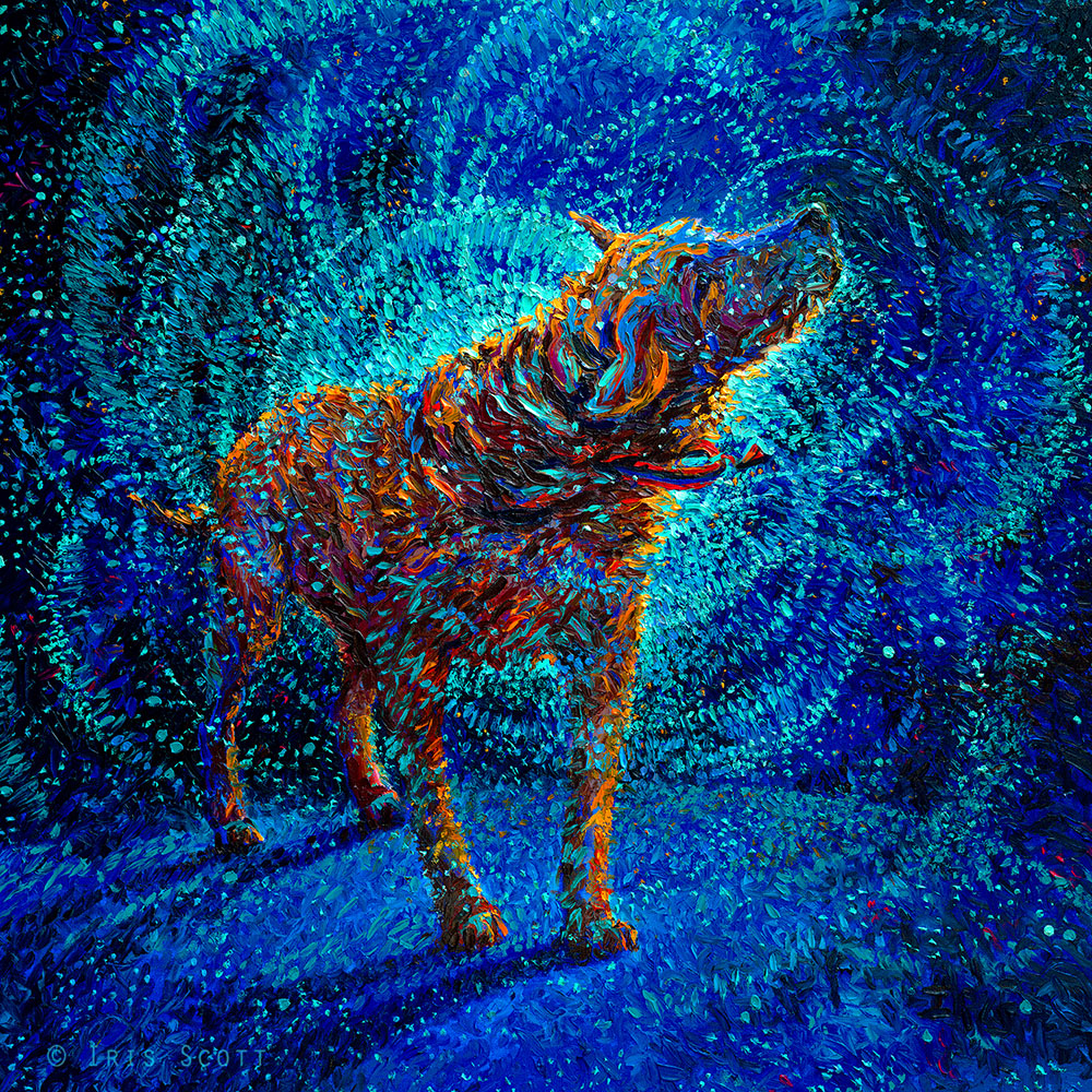 Oil Finger Paintings by Iris Scott 3