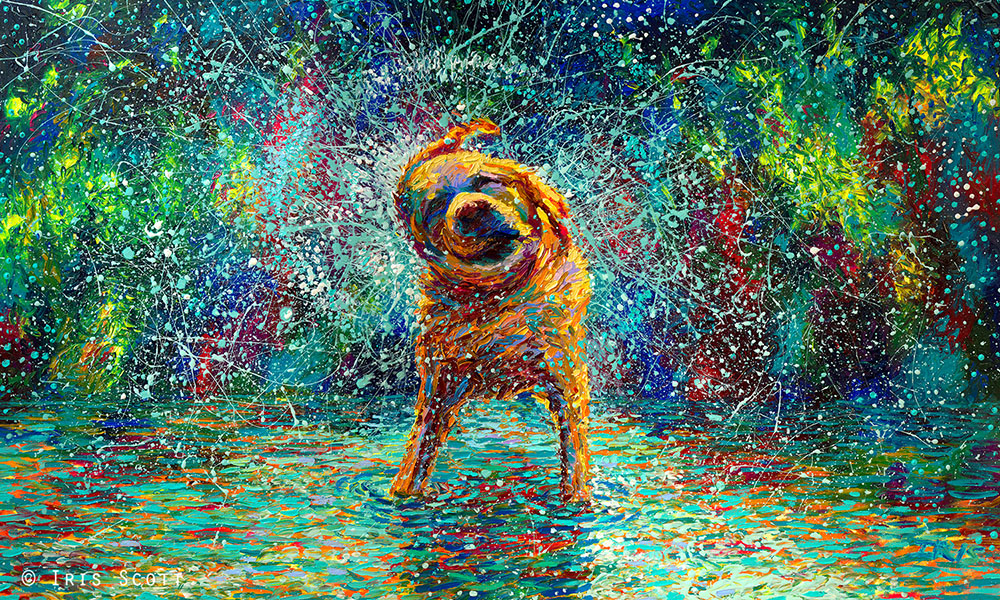 Oil Finger Paintings by Iris Scott 4