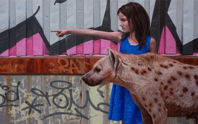 Hyperrealistic Paintings of Children and Animals