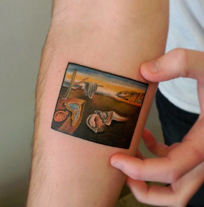 The-Persistence-Of-Memory-Salvador-Dali-tattoo