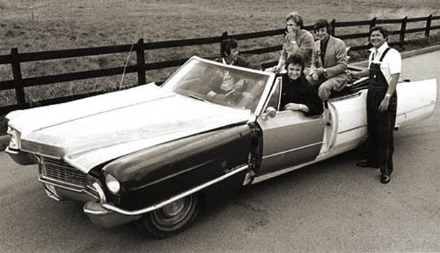Rock Stars Cars - 12. Johnny Cash – Cadillac '49 – '70