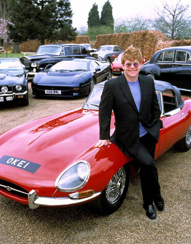 Rock Stars Cars - 21. Elton John – Jaguar E-Type