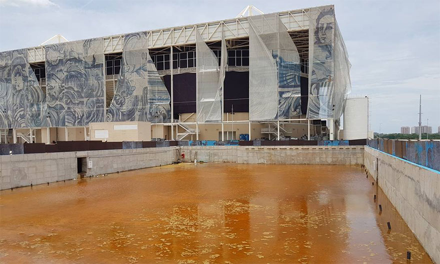 Rio 2016 Olympic Areas Only Just Six Months After The Olympics