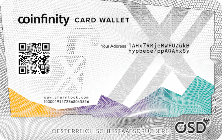 Review: Coinfinity's Card Wallet Provides Tamper-Proof Cold Storage
