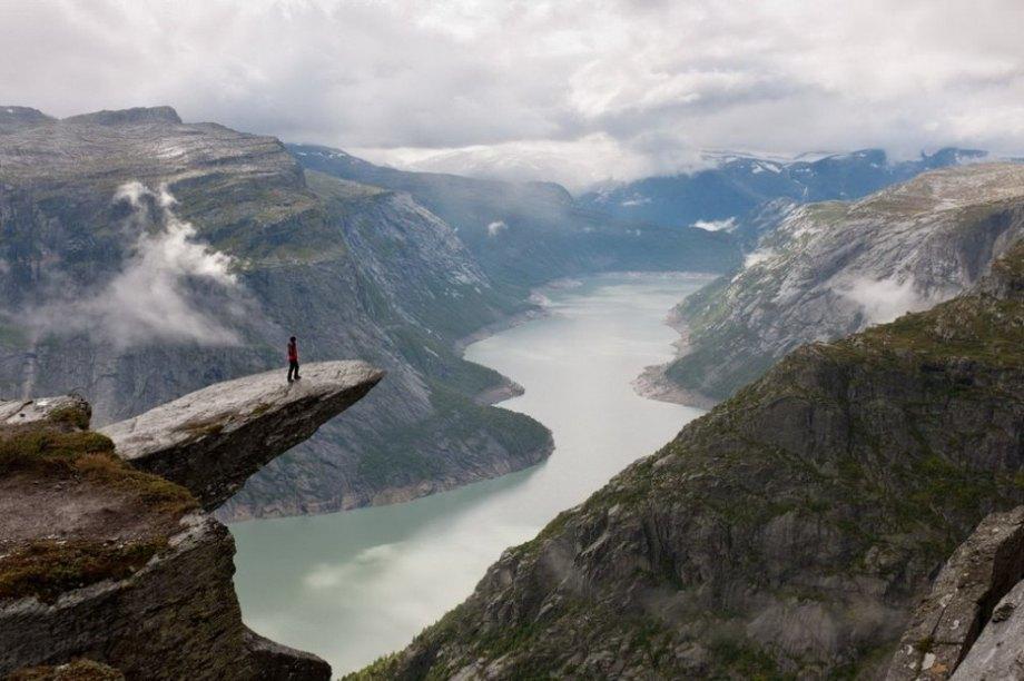 Trolltunga Cliff in Norway
