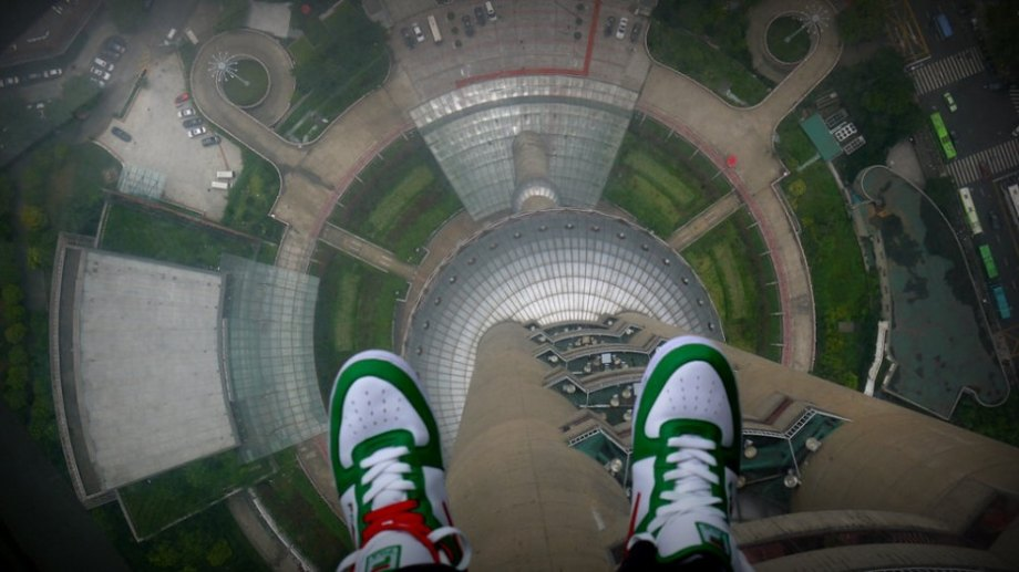 At 1500 feet tall, this TV tower was the largest structure in China for more than a decade. It still dominates the Shanghai skyline.