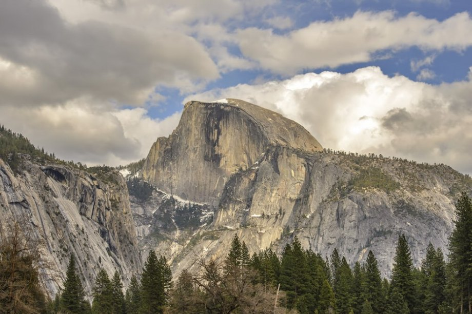 Half Dome Mountain, Yosemite National Park, USA