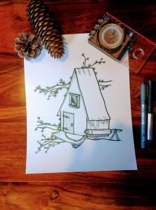 la cabane de gros pin