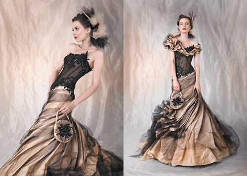 Steampunk Wedding Gowns