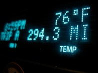 9pm and still 76