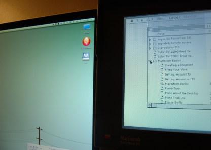 Macintosh Juxtaposition
