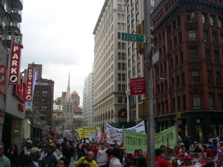 More protesting