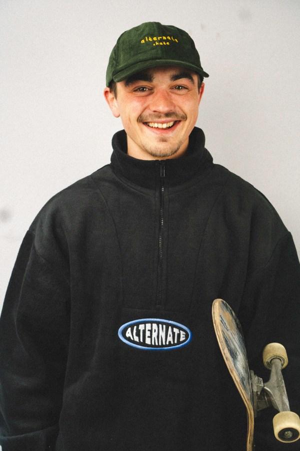 Sweater Black Front Jordy