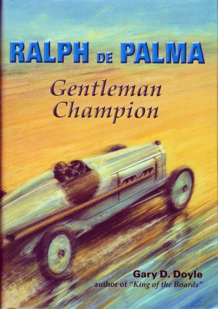 Ralph Depalma Racing Champion book