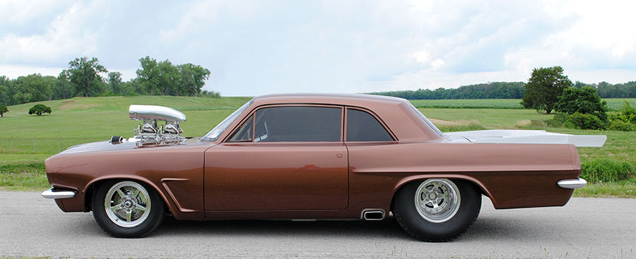 Alternate Supercars Blown 1963 Pontiac Tempest - Alternate