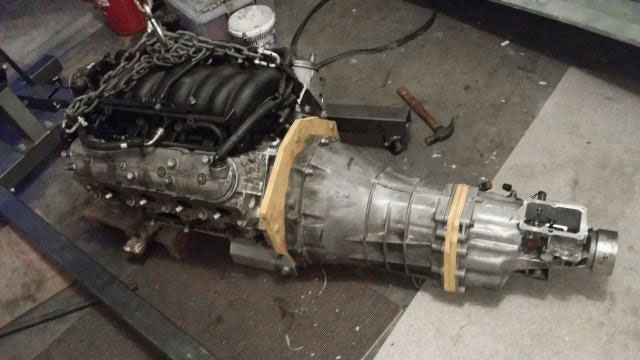 LS swap transmission