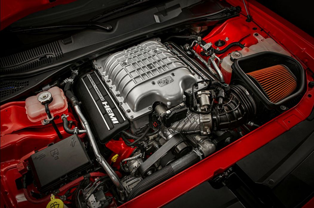 dodge demon engine
