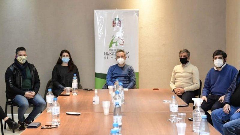 Larroque y los intendentes Zabaleta, Menéndez, Moreira y Fernández refuerzan las acciones frente a la emergencia sanitaria