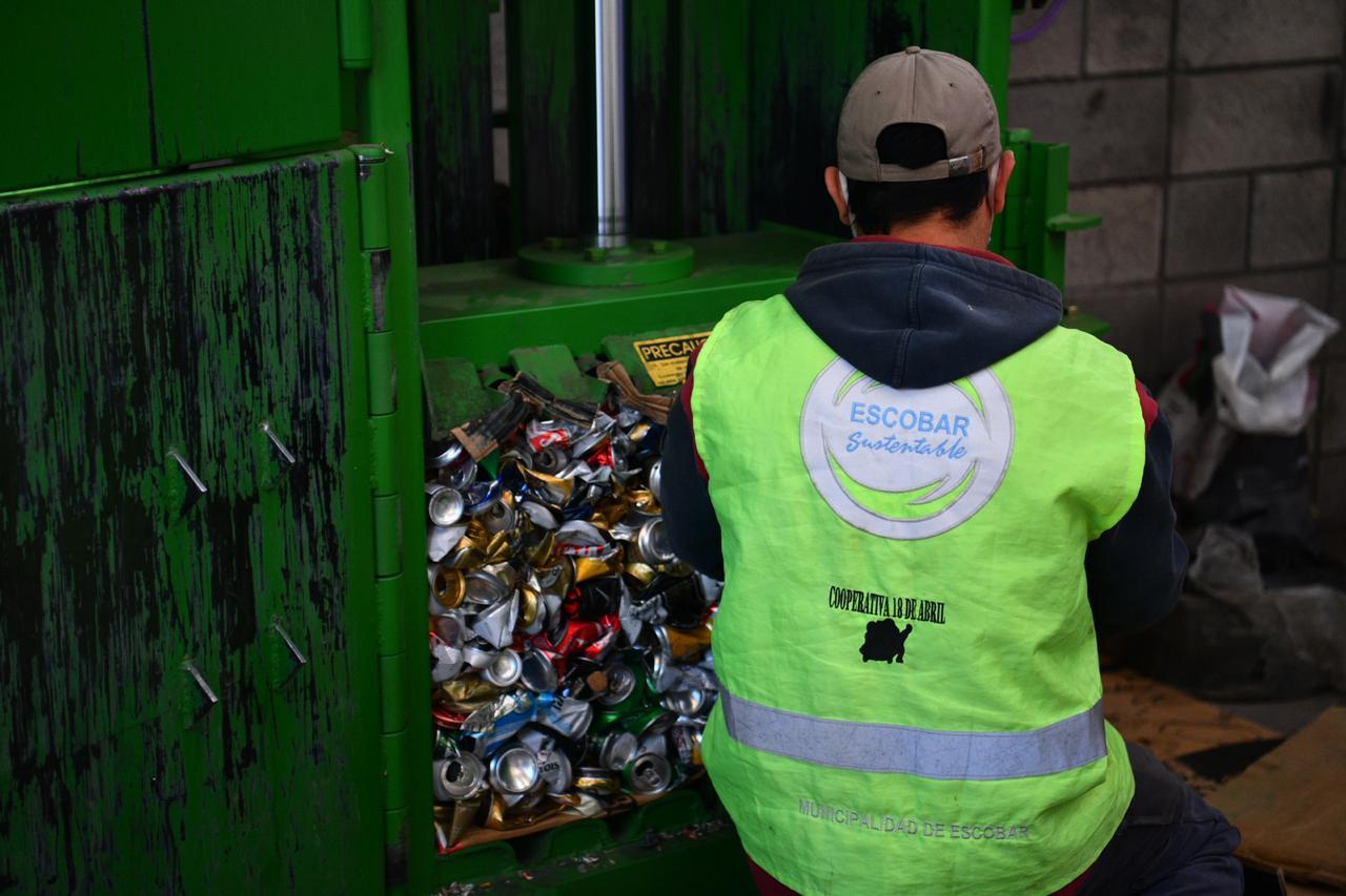Escobar Sostenible, se recolectaron 30.000 kilos de residuos sólidos urbanos para reciclar