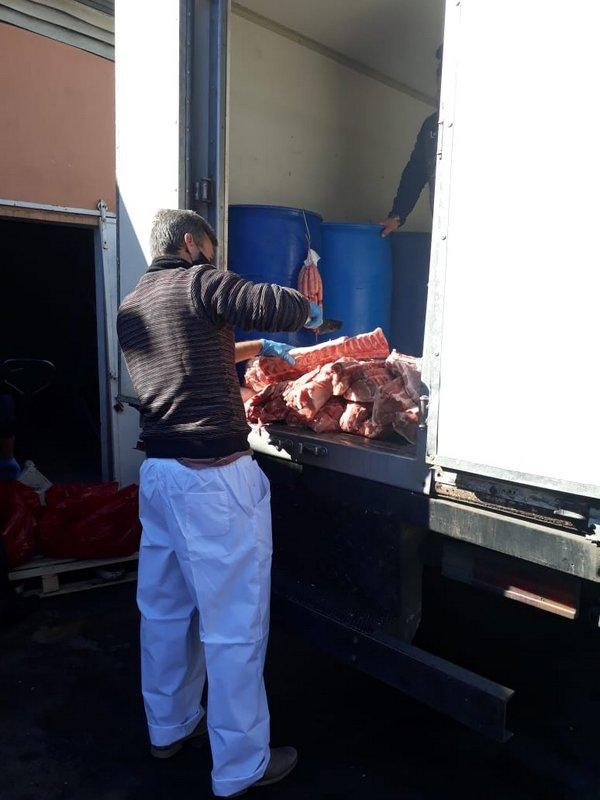 La Municipalidad de Escobar decomisó más de 600 kilos de carne porcina