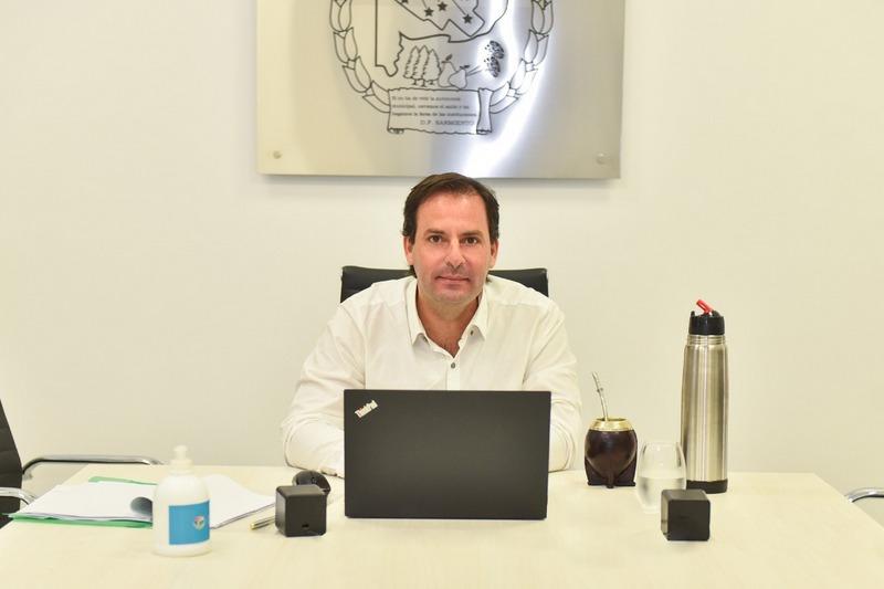 La Municipalidad y el Banco Provincia firman un leasing para renovar el parque de maquinarias viales y profundizar el plan de infraestructura en todo el partido de Escobar