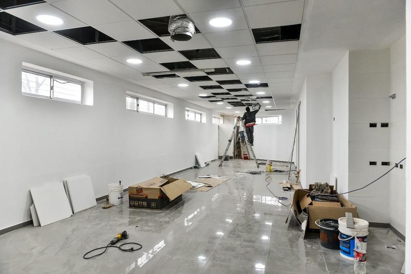Avanzan las obras de renovación y mejoras edilicias del Hospital Municipal Presidente Néstor Carlos Kirchner