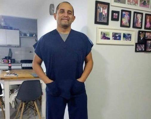 Marcelo Di Maio , enfermero del Hospital Erill,  falleció por Coronavirus