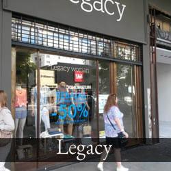 Paro de Trabajadores en los locales de Legacy