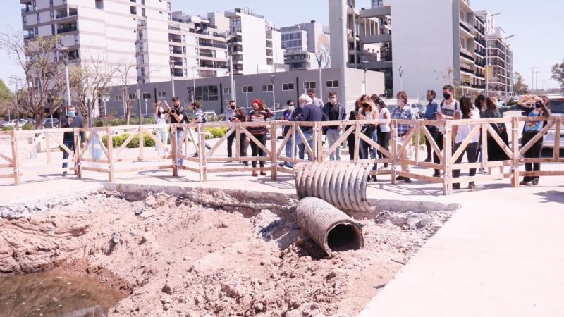 Legisladores del Frente de Todos recorrieron el barrio Olímpico