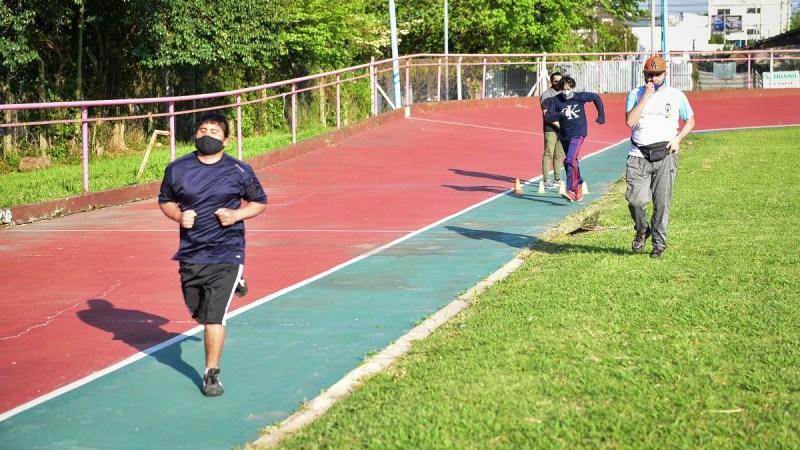 Con la participación de unos 40 vecinos, el Área de Deportes para Personas con Discapacidad de la Municipalidad de Escobar retornó a las actividades presenciales