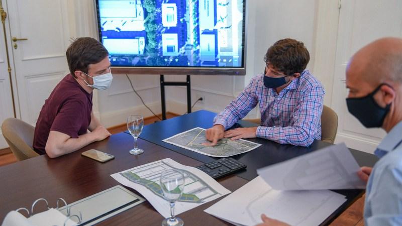 Juan Andreotti se reunió con el Ministro Augusto Costa para trabajar sobre el futuro Parque Industrial