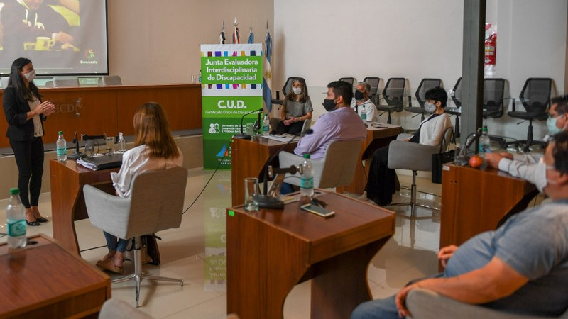 El Municipio capacitó a concejales para optimizar la atención de las personas con discapacidad