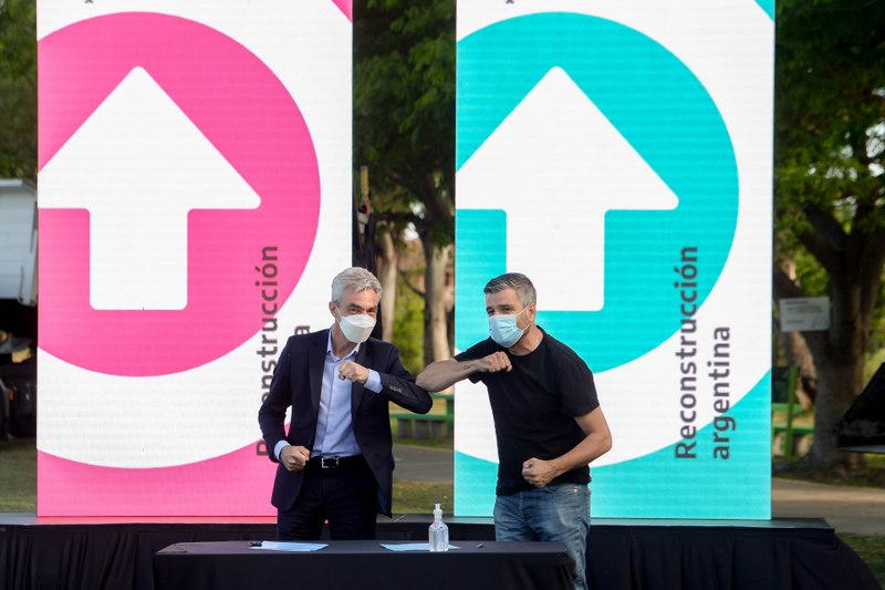 Zabaleta y Meoni anunciaron en Hurlingham un plan integral de Movilidad Urbana